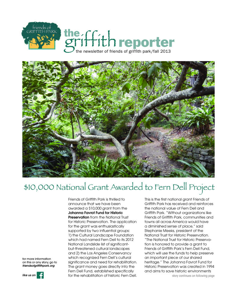 Griffith Reporter (Fall 2013)