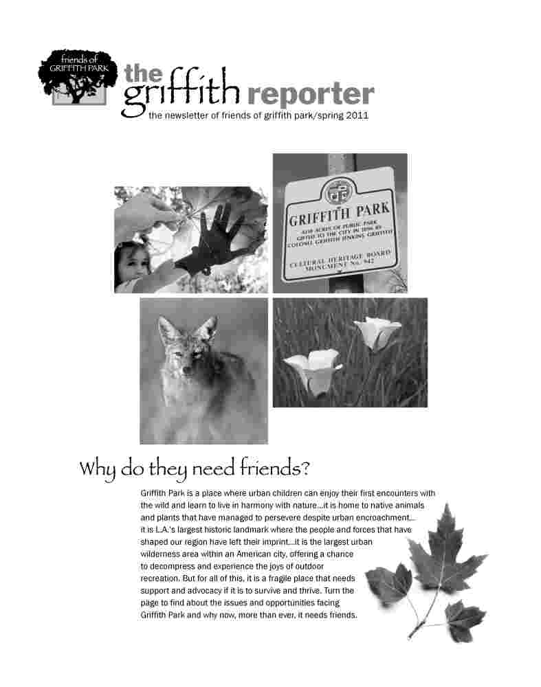Griffith Reporter (Spring 2011)