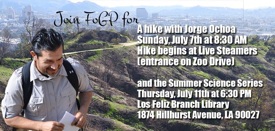 Join Jorge Ochoa for a hike and a talk